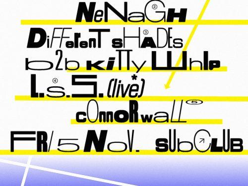 Bunker presents DJ Ali (Live) & Different Shades b2b Kitty Whip – November 2021